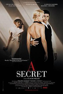<i>A Secret</i> 2007 film by Claude Miller