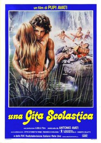 A School Outing - Italian theatrical release poster by Enzo Sciotti