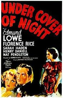 <i>Under Cover of Night</i> 1937 film