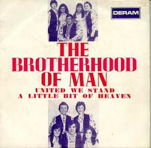 United We Stand (song) - Image: United We Stand single Brotherhood Of Man