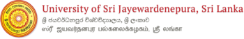 Logo of the University of Sri Jayewardenepura