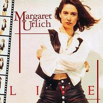 Live (Margaret Urlich album) - Image: Urlich Live