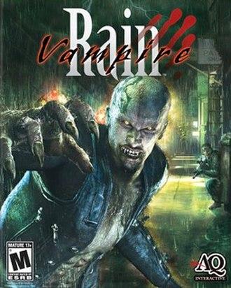 Vampire Rain - Image: Vampire Rain Box