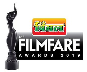 64th Filmfare Awards - Image: Vimal Filmfare Awards 2019