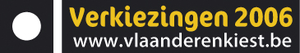 Belgian local elections, 2006 - Official logo of the municipal and provincial elections in the Flemish Region