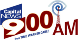WABY (AM) - WUAM's logo while simulcasting Capital News 9, as Capital News 900