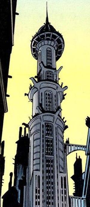 Wayne Enterprises - Image: Wayne Tower