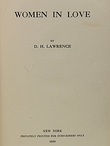 the rainbow dh lawrence themes