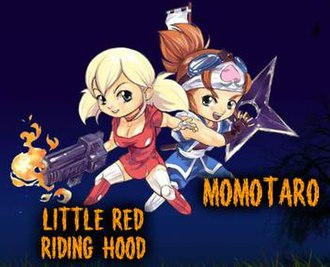 Little Red Riding Hood's Zombie BBQ - The main characters of Little Red Riding Hood's Zombie BBQ