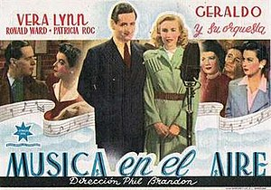 We'll Meet Again (1943 film) - Spanish poster