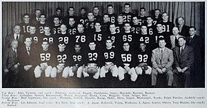 1946 Illinois Fighting Illini football team - Image: 1946 Illinois Fighting Illini football team