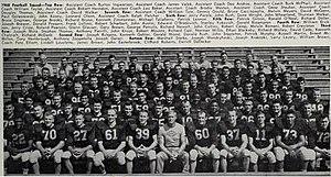 1960 Illinois Fighting Illini football team - Image: 1960 Illinois Fighting Illini football team