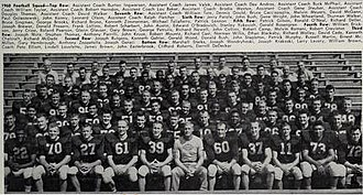 1960 Illinois Fighting Illini football team - Image: 1960 Illinois Fighting Illini football team