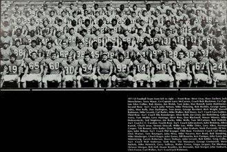 1971 Illinois Fighting Illini football team - Image: 1971 Illinois Fighting Illini football team