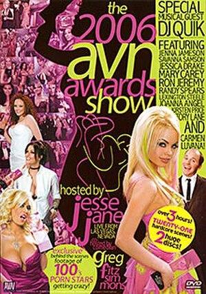 23rd AVN Awards - 2006 AVN Awards DVD cover art