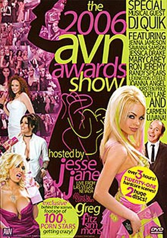 23rd AVN Awards - 2006 AVN Awards DVD cover art
