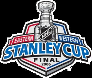 2006 Stanley Cup Finals - Image: 2006stanleycupfinals