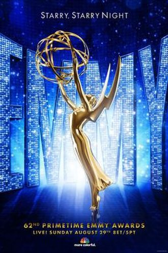 62nd Primetime Emmy Awards - Promotional poster
