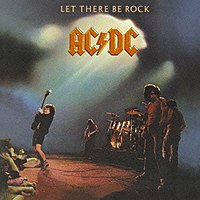 The worldwide edition was the first AC/DC album to use the band's logo