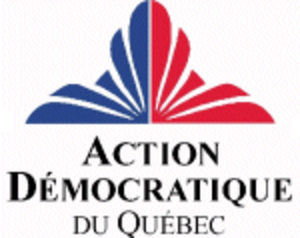 Action démocratique du Québec - Action démocratique du Québec logo (1994–98)