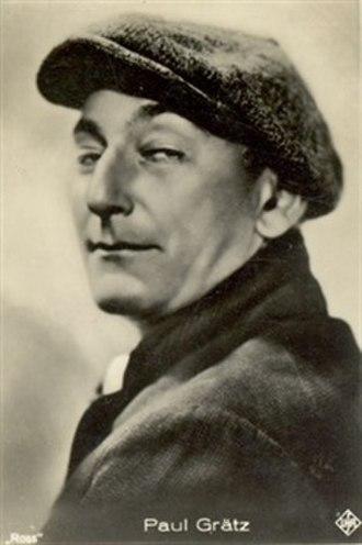 Paul Graetz - Image: Actor Paul Graetz