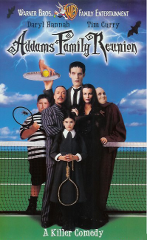 Addams Family Reunion - VHS cover