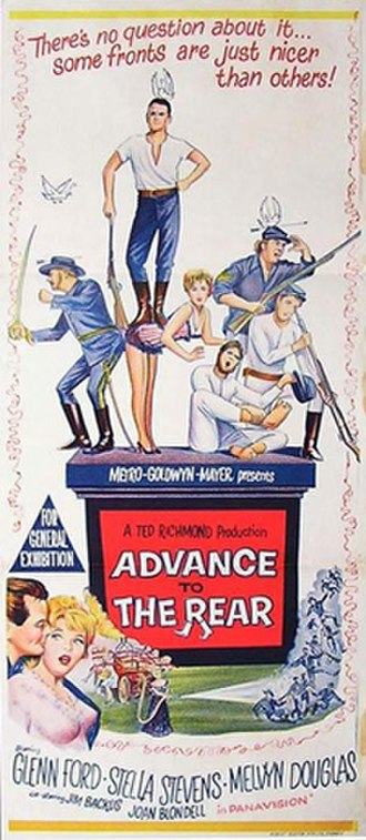 Advance to the Rear - Australian film poster