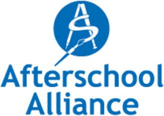 After-school activity - The logo for Afterschool Alliance, an advocate of the expansion of resources for after-school programs in the United States.