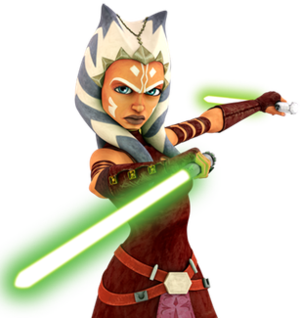 Ahsoka Tano - Ahsoka in the costume introduced in the third season of The Clone Wars and used for the remainder of the show