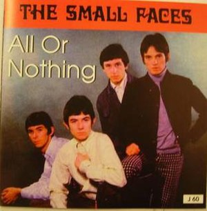All or Nothing (Small Faces song) - Image: All or Nothing (Small Faces single cover art)