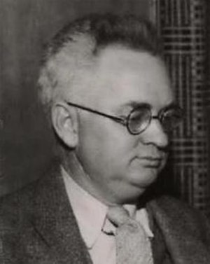 Devere Allen - Devere Allen as he appeared in March 1937, at the time of the national convention of the Socialist Party of America.