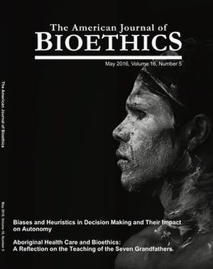 American Journal of Bioethics - Image: American journal of bioethics cover