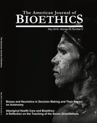 American Journal of Bioethics - Image: American journal of bioethics cover