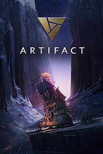 <i>Artifact</i> (video game) 2018 video game