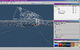 Adobe Atmosphere - With three-dimensional wireframe views and multiple floating tool windows, the Atmosphere Builder was reminiscent of both CAD software and professional graphics applications like Adobe Photoshop.