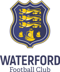 b5adb55fa Badge of Waterford FC.png. Waterford crest. Full name