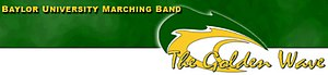 Baylor University Golden Wave Band - Image: Baylor Band