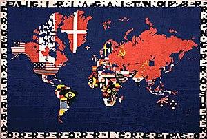 Alighiero Boetti - Mappa by Alighiero e Boetti, 1978