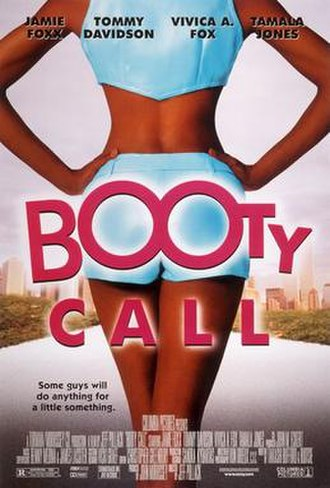 Booty Call - Theatrical release poster
