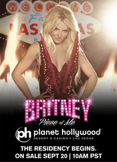 Britney: Piece of Me concert residency by Britney Spears