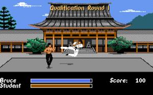 Bruce Lee Lives - Screenshot of Bruce Lee Lives.