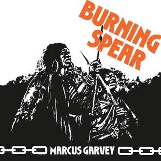 Marcus Garvey (album) - Image: Burning Spear Marcus Garvey
