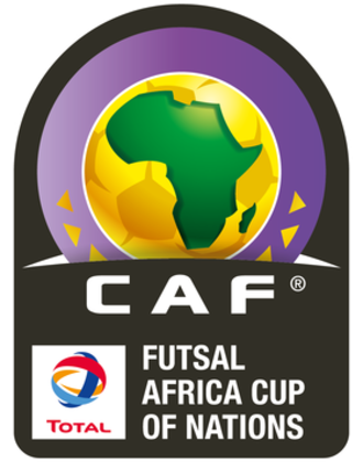 Africa Futsal Cup of Nations - Image: CAN Futsal official logo