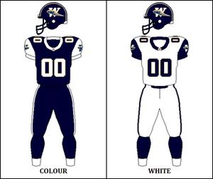 1995 Winnipeg Blue Bombers season - Image: CFL WPG Jersey 1995