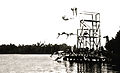Camp Highlands Diving Extraordinaire Towers circa 1923.jpg