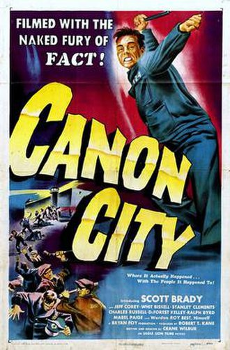 Canon City (film) - Theatrical release poster