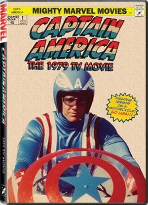 Captain America (1979 film) - DVD cover