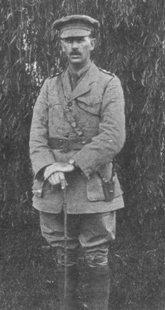 John Arthur - Captain John Arthur, commander of the Kikuyu Mission Carrier Corps