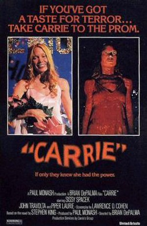 Carrie (1976 film) - Original theatrical release poster