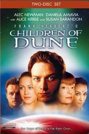 Frank Herbert's Children of Dune - DVD cover